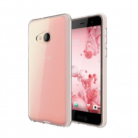 HTC U Play – Etui slim clear case przeźroczyste