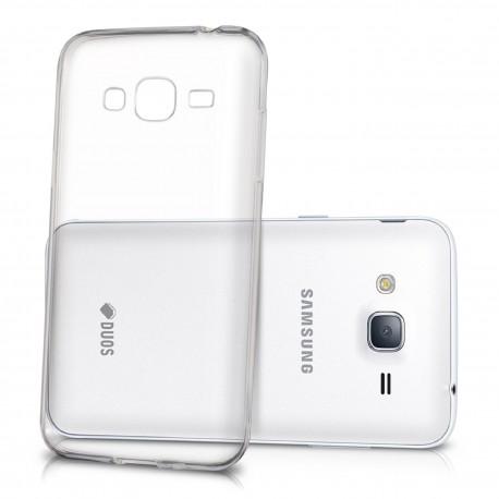 Samsung Galaxy J3 2016 - Etui slim clear case przeźroczyste
