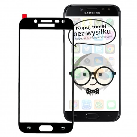 Samsung Galaxy J3 2017 – Szkło hartowane 5D FULL GLUE Pełne na cały ekran
