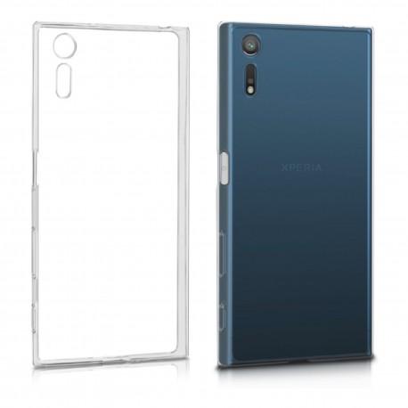 Sony Xperia XZ - Etui slim clear case przeźroczyste