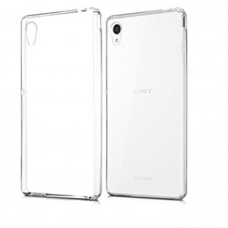 Sony Xperia M4 Aqua - Etui slim clear case przeźroczyste