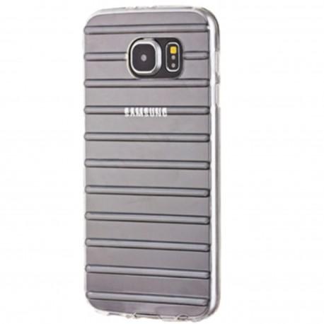 Samsung Galaxy S6 – Przeźroczyste etui gel stripes