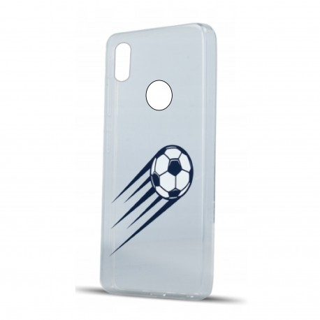 Huawei P20 Lite - Etui Football clear case